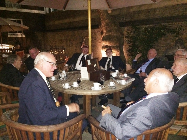 Past Masters Dinner: In & Out Club