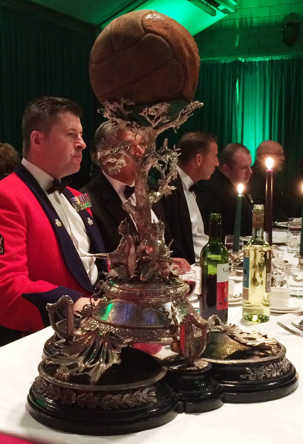 Battle of Loos Dinner with the London Regiement