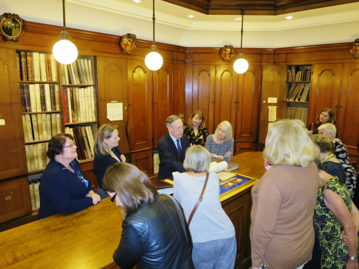 The Mistresses Visit to the College of Arms