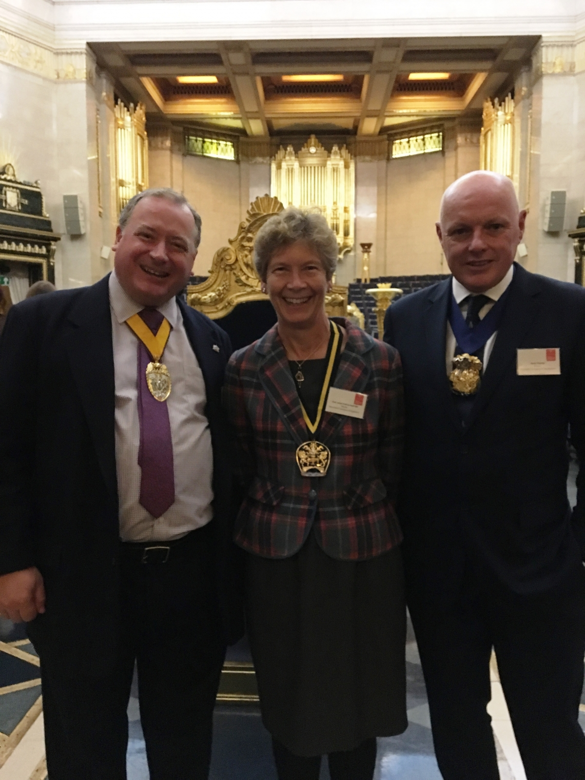 London Air Ambulance Reception: Grand Temple Lodge