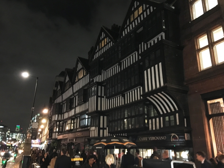 Actuaries' Lecture at Staple Inn, Holborn