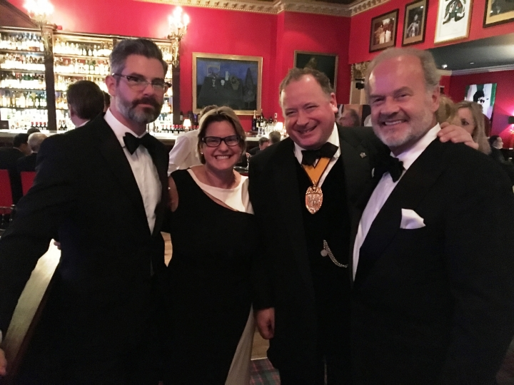 Cigar Smoker of the Year at Boisdale's