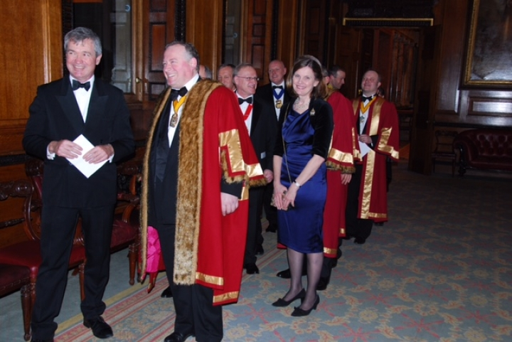 January Court & Dinner, Drapers' Hall