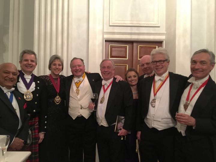 Lord Mayor's Masters Banquet, Mansion House