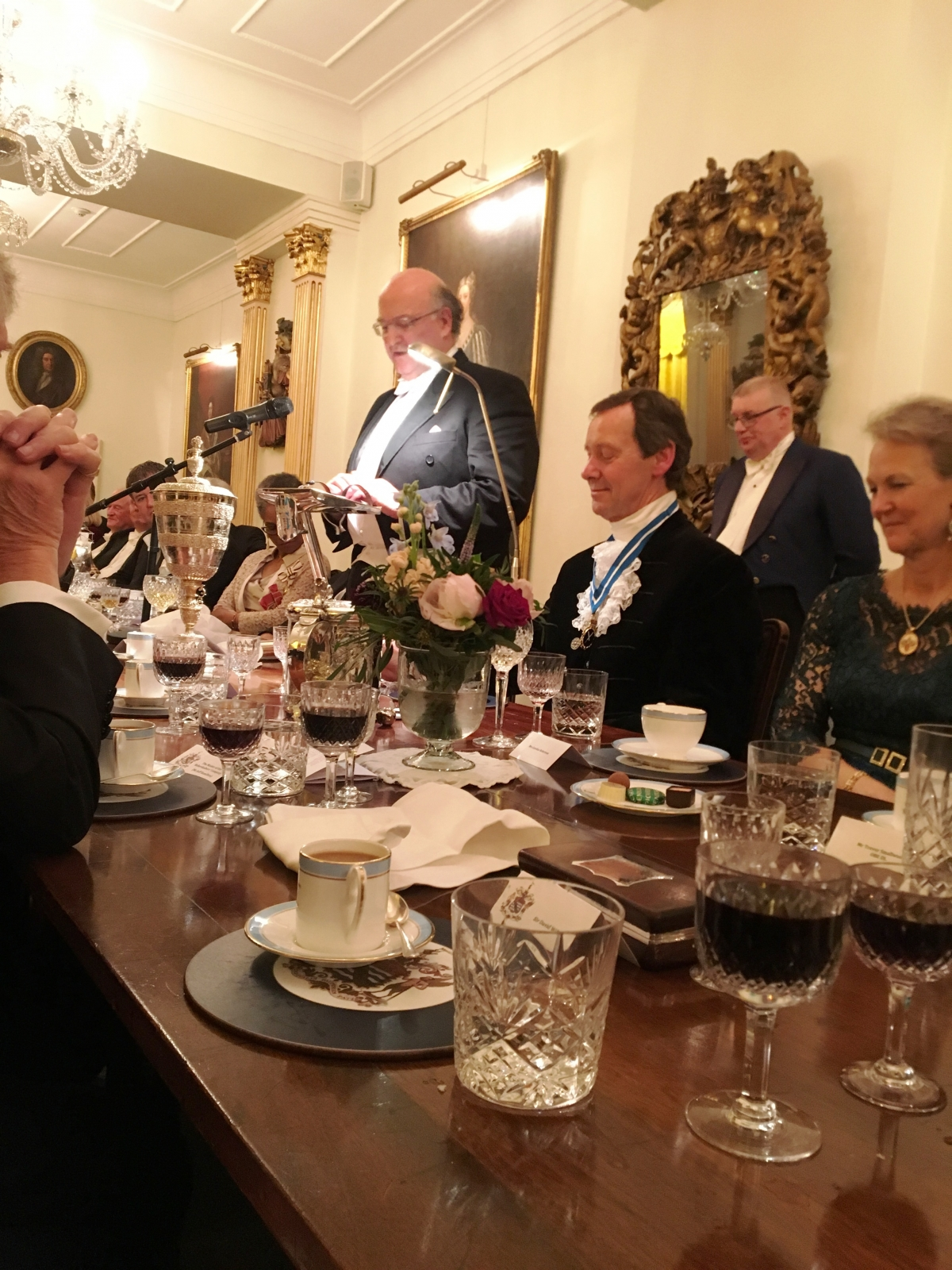 The Society of Merchant Venturers Spring Banquet, Merchants' Hall, Bristol