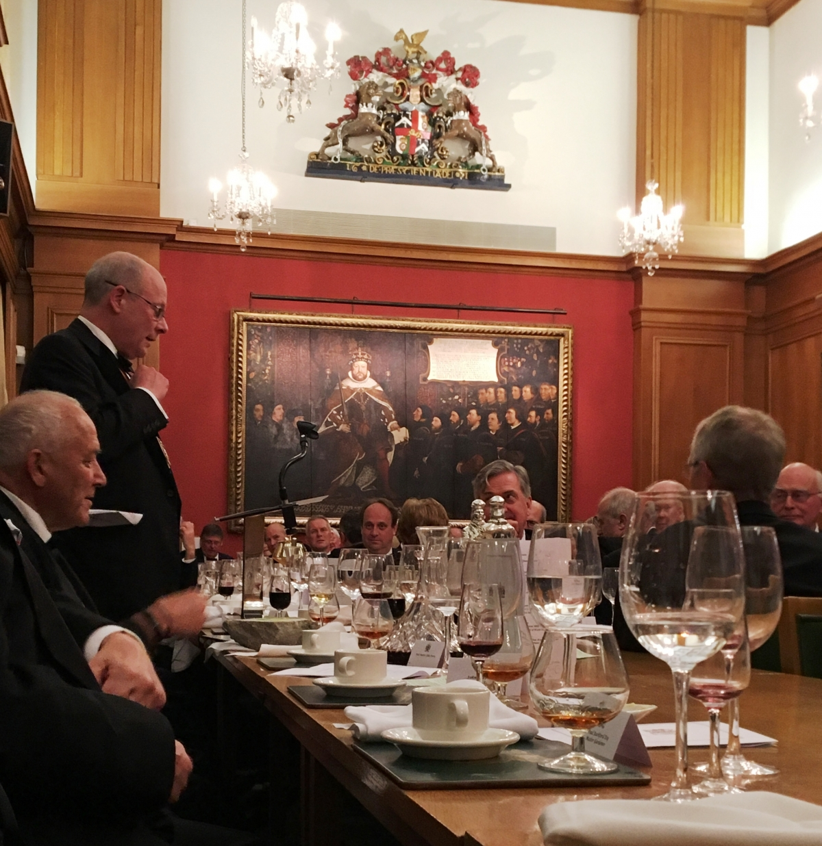 Tin Plate Workers' alias Wire Drawers May Court Dinner, Barber Surgeons Hall