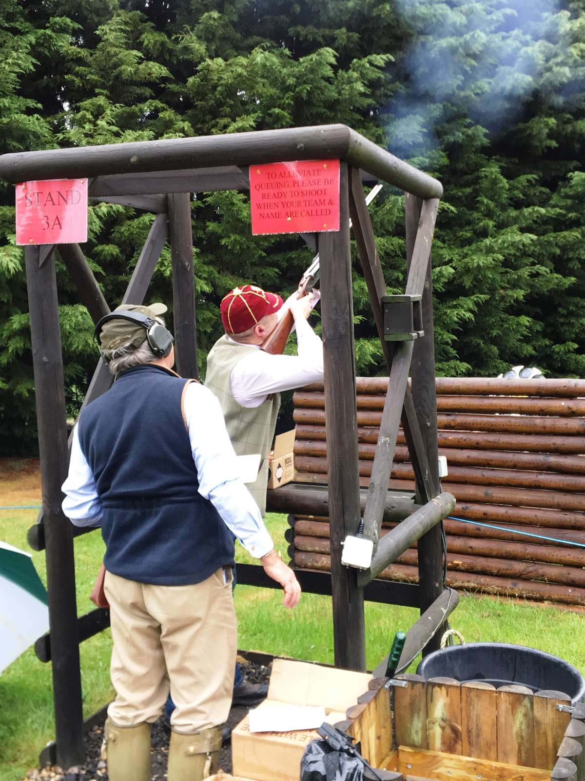 Inter-Livery clay pigeon shoot, Holland & Holland, Ruislip