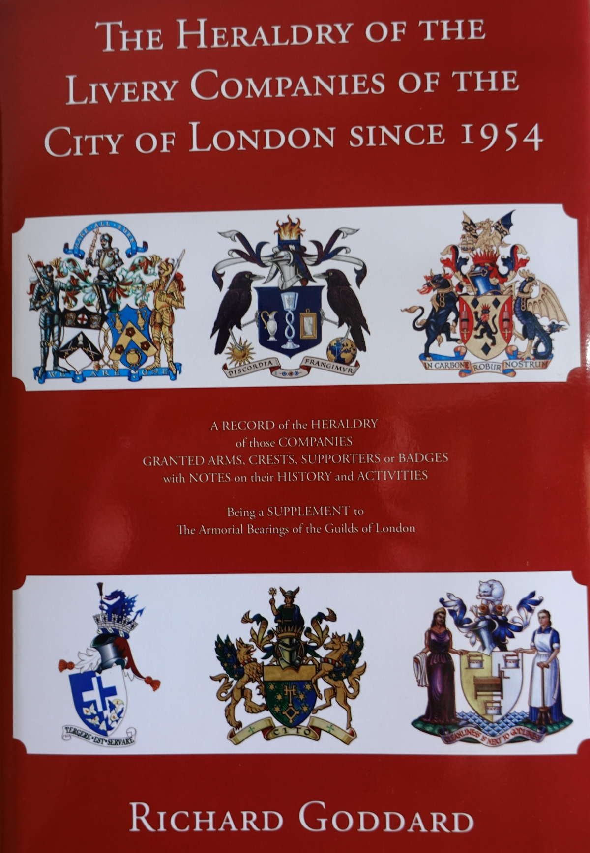 The Heraldry of the Livery Companies of the City of London Book Launch