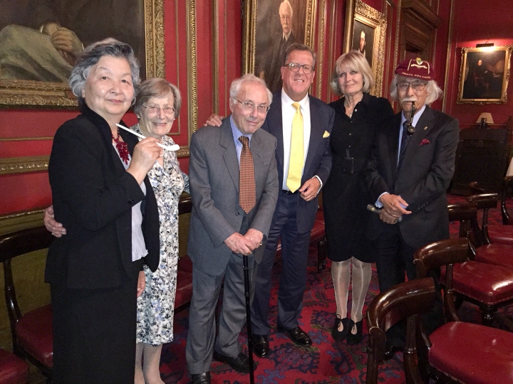 Dinner in honour of Barney Suzuki and Sir Ivor Cohen
