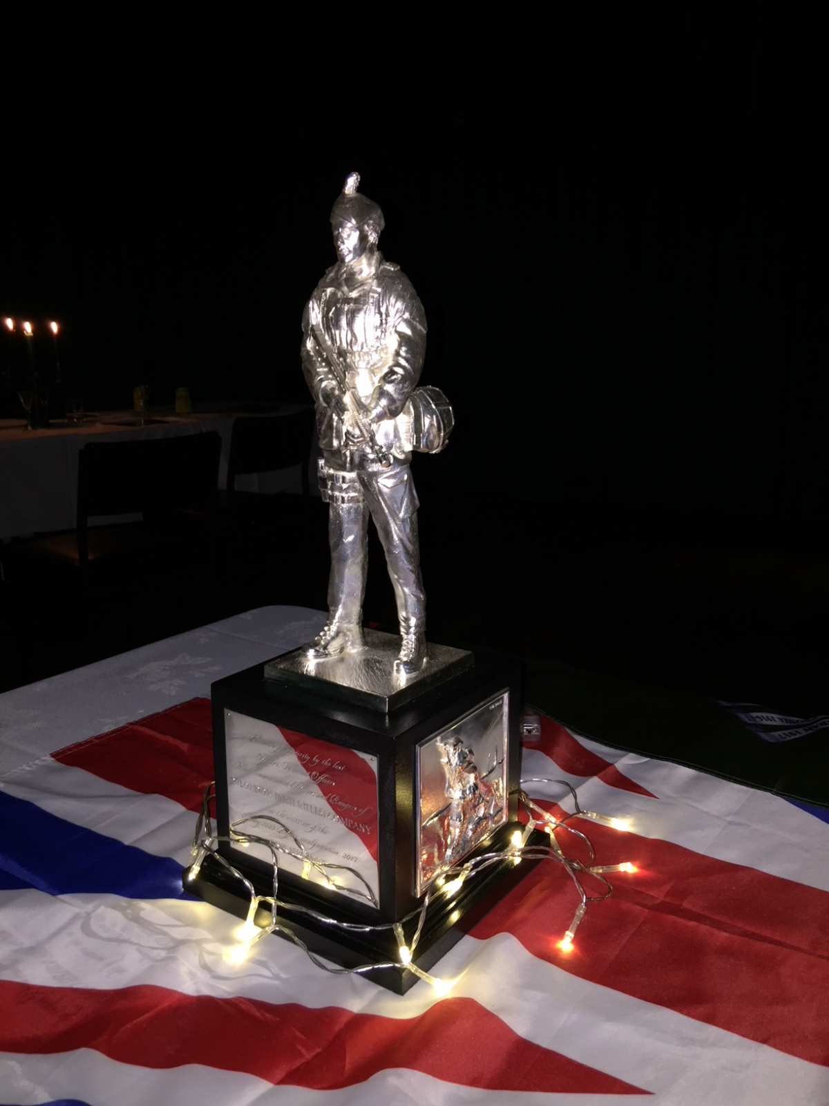 Battle of Loos Commemoration Dinner with the London Regiment
