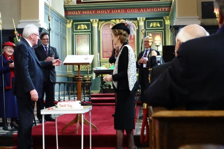 Church service for the Lord Mayor