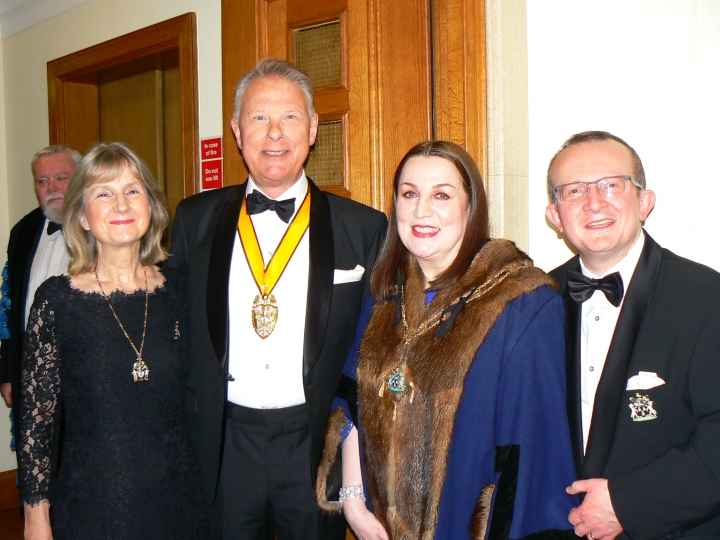 Upholders' January Court Dinner