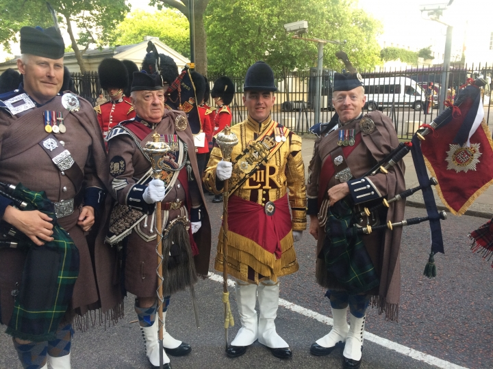 London Remembers WW1 - A Drumhead Service