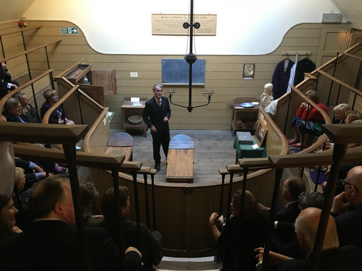 The Master's Reception at the Old Operating Theatre