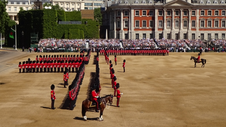 Trooping the Colour - Colonel's Review