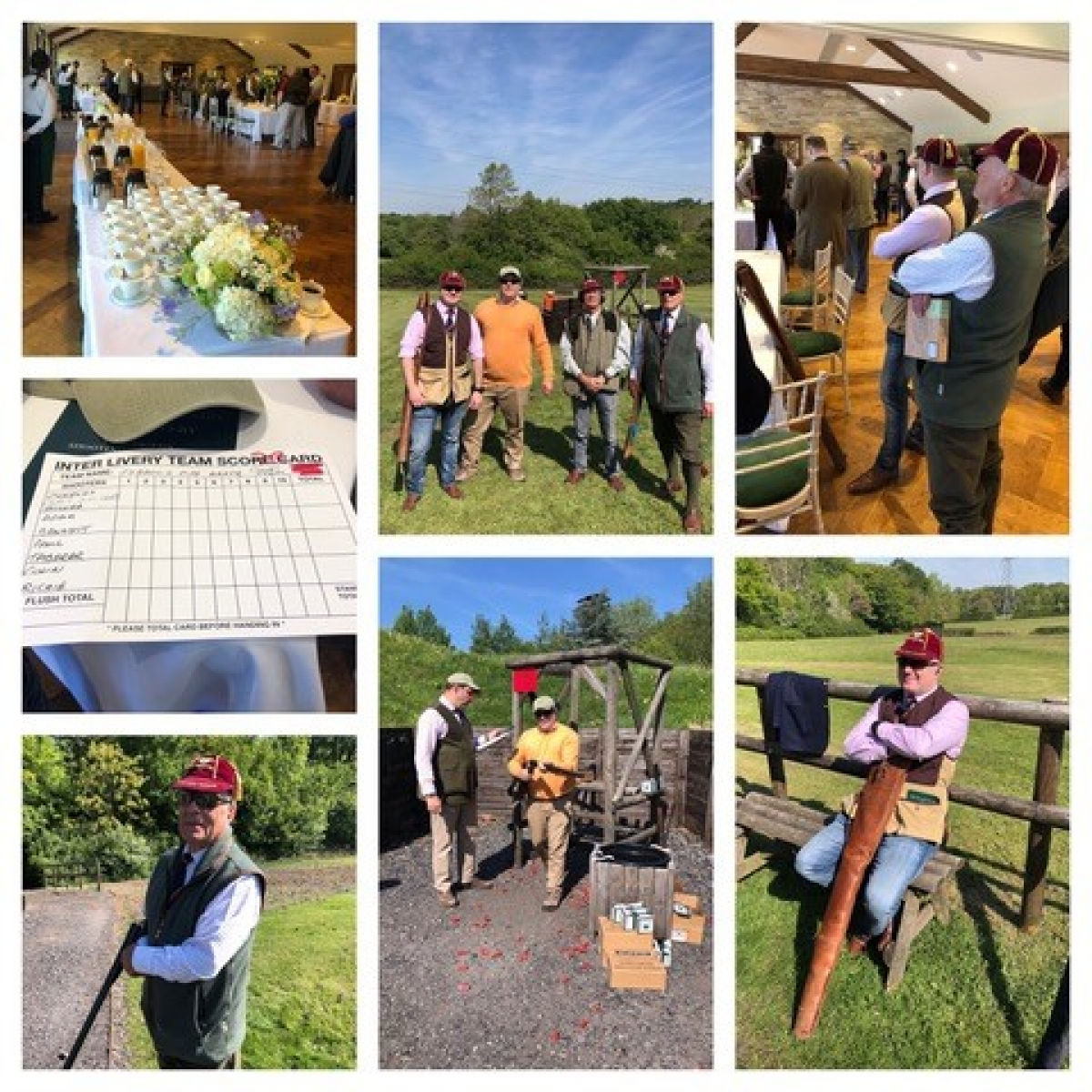 The 25th Anniversary Annual Inter-Livery Clay Pigeon Shooting Competition