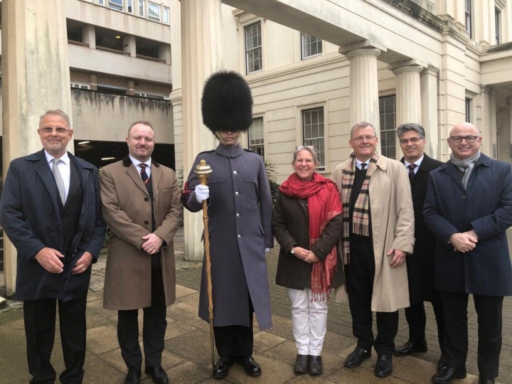 New Affiliation with the Irish Guards Association