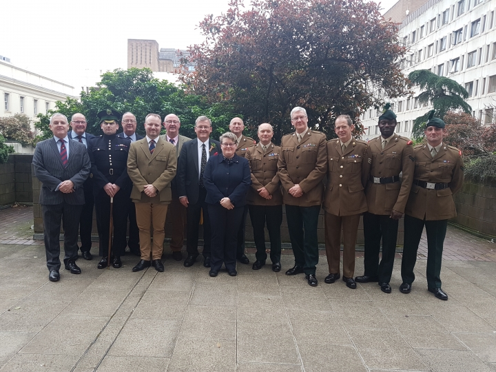 St Patrick's Day at Wellington Barracks