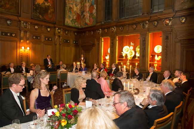37 60th Anniversary Banquet at Skinners' Hall
