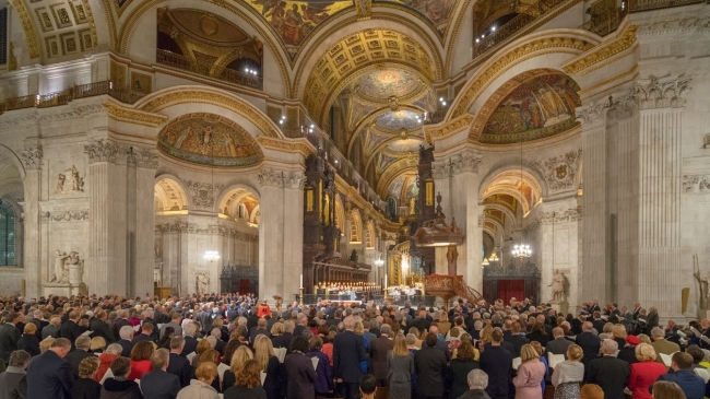 Musicians Company Evensong and Reception