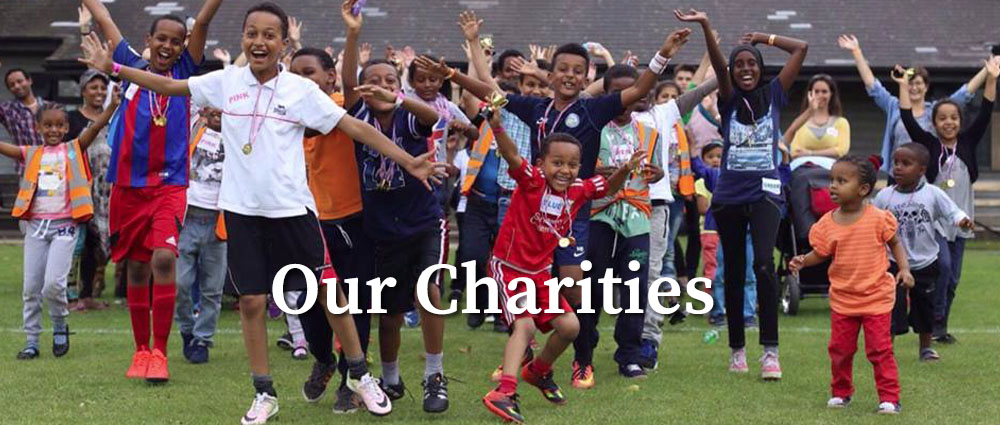 Our charities banner